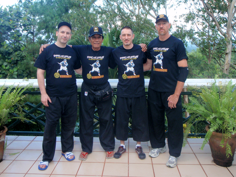 Baringin Sakti USA with Grandmaster Edward Lebe - Philippines 2012