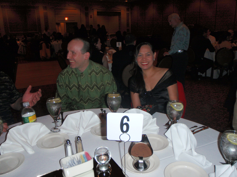 Mike and May at the Martial Arts Banquet 2010