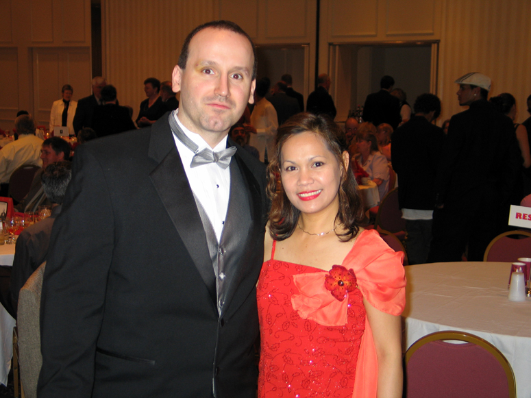 Mike and May at WMAF Banquet