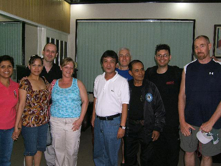 Bago City Mayor and MARI Group - Philippines 2007