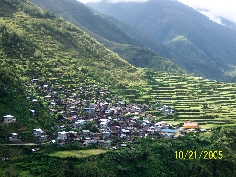 Banaue Rice Terraces Philippines 2005