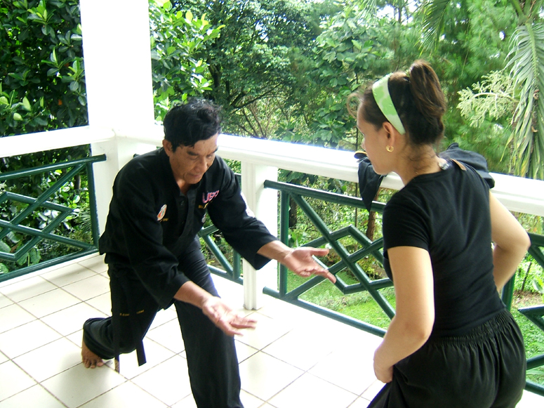 Guru Lebe and May - Philippines 2007