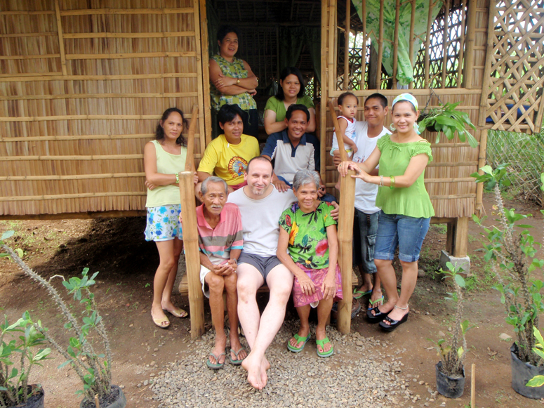Mike,  May & their Family - Philippines