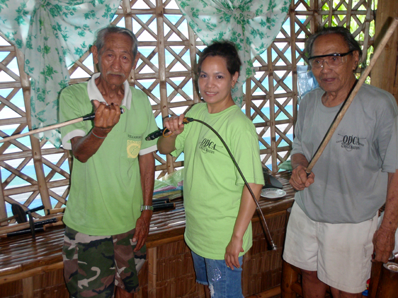 Tatay, May and GM Gubaton Philippines 2010