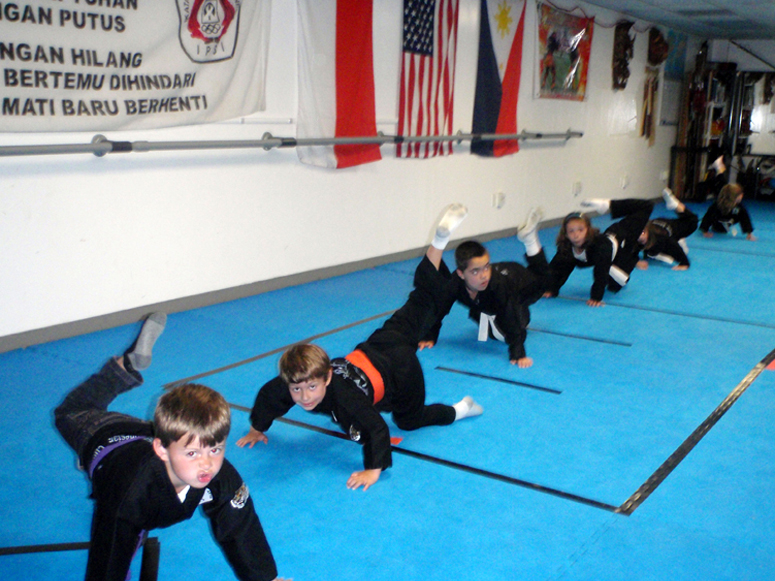Kids Crocodile (Pencak Silat)